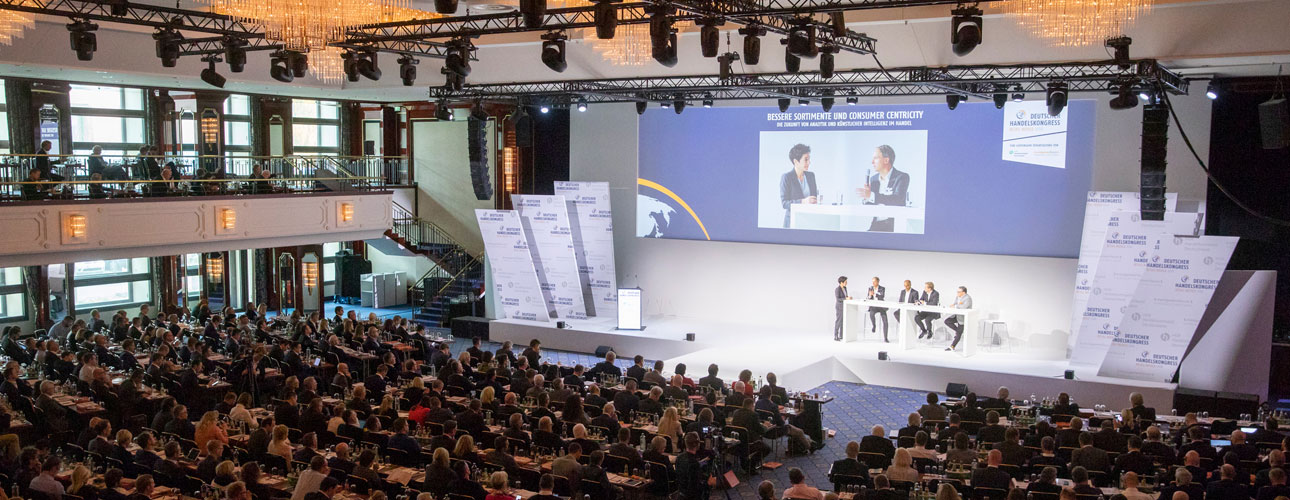 21.11.2019 – Deutscher Handelskongress Retail World 2019 in Berlin