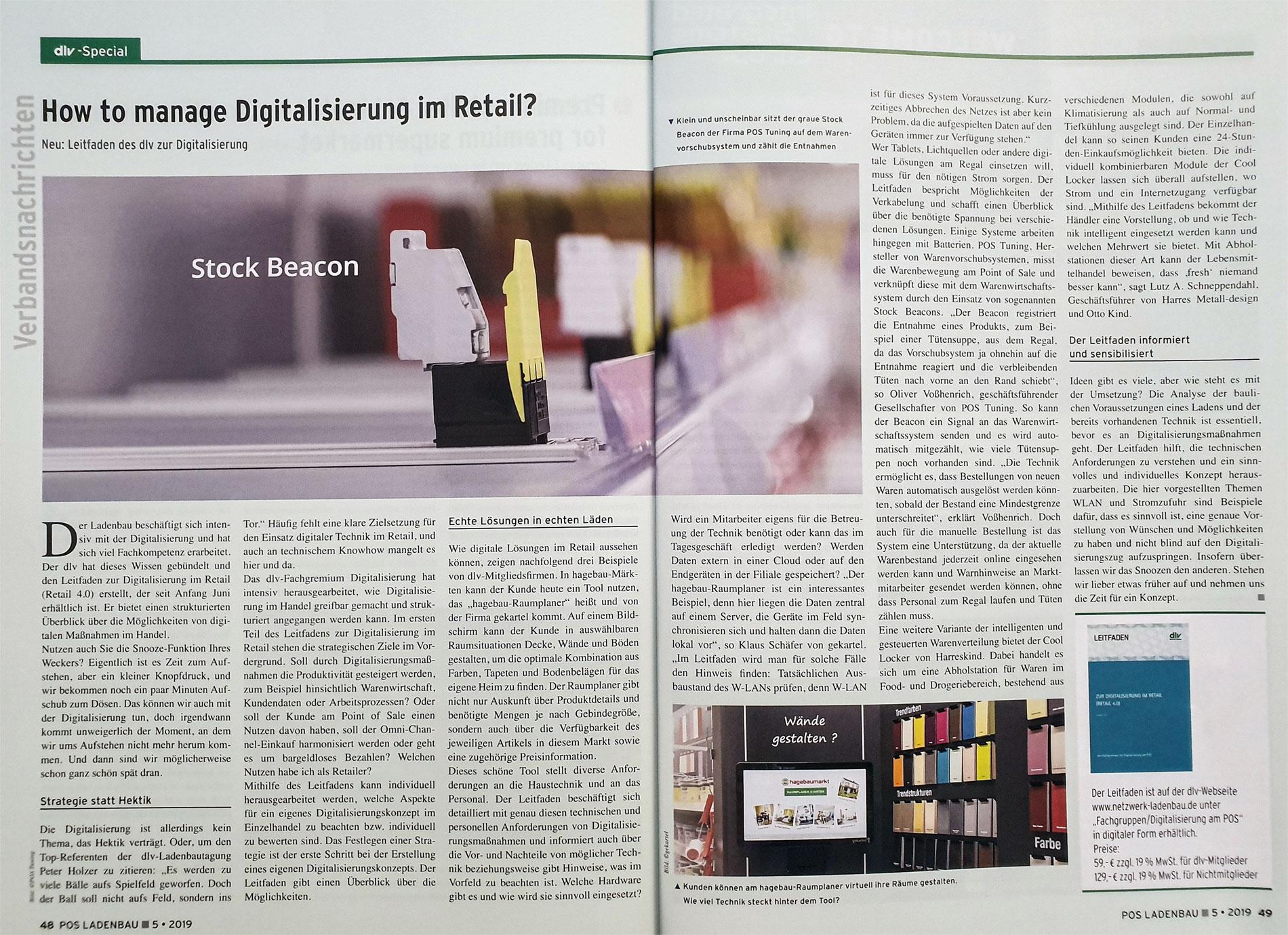 Digitalisierung im Retail