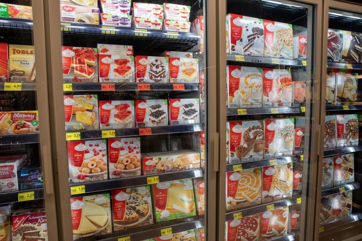 Regaloptimierung Bereich TK Torten und Desserts
