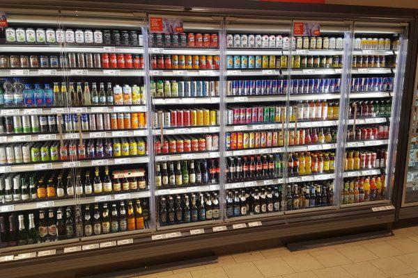 AFG Kühlschrank mit Warenvorschub